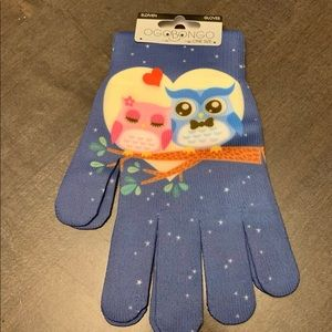 Accessories - NWT owl stretch gloves